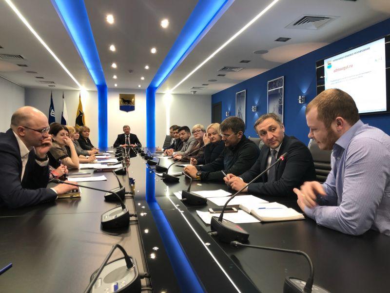 Заседание координационного совета по выработке механизмов расширения доступа немуниципальных организаций к предоставлению услуг в социальной сфере на территории города Сургута