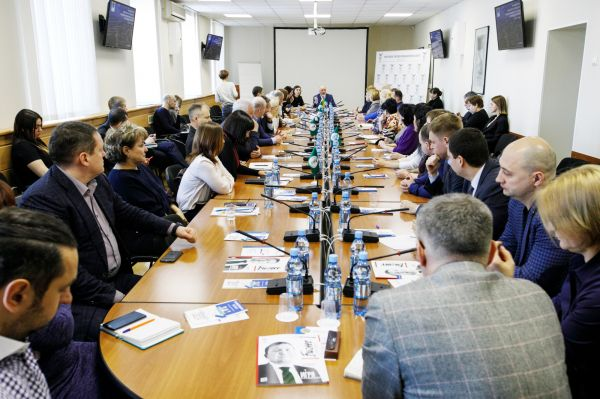 Встреча Главы города Вадима Николаевича Шувалова с предпринимателями Сургута