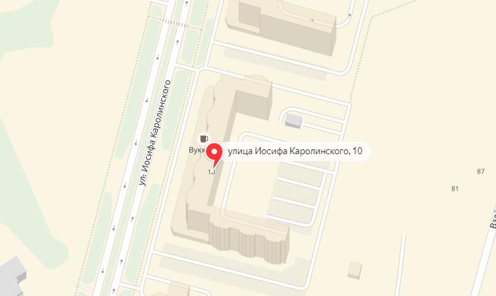 Билдинг-сад по ул. Каролинского 10