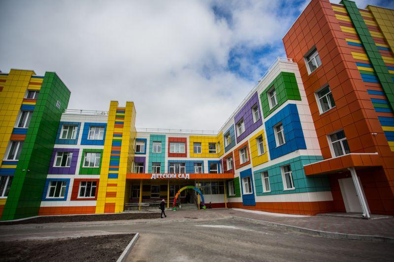 Детский сад в микрорайоне 20А