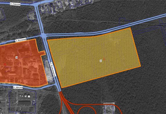 Инвестиционная площадка №22 в сфере развития жилищного строительства