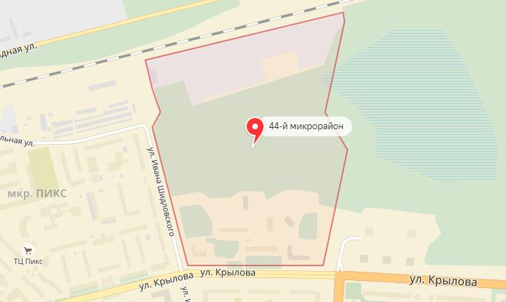 Образовательный комплекс в микрорайоне 44 г.Сургута (средняя общеобразовательная школа на 1250 учащихся (в 1 смену) с углубленным изучением отдельных предметов с универсальной безбарьерной средой; детский сад на 550 мест)