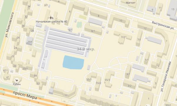 Средняя общеобразовательная школа в микрорайоне 34 (Общеобразовательная организация с универсальной безбарьерной средой)