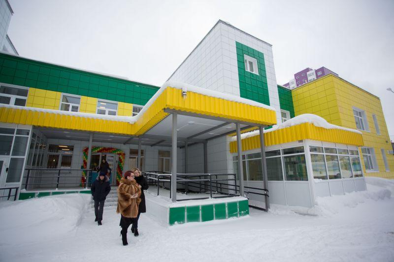 Детский сад в микрорайоне 42