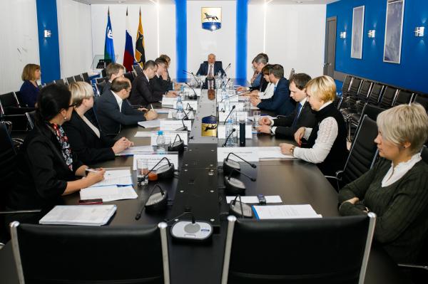 Заседание инвестиционного совета при Главе города от 22.11.2017